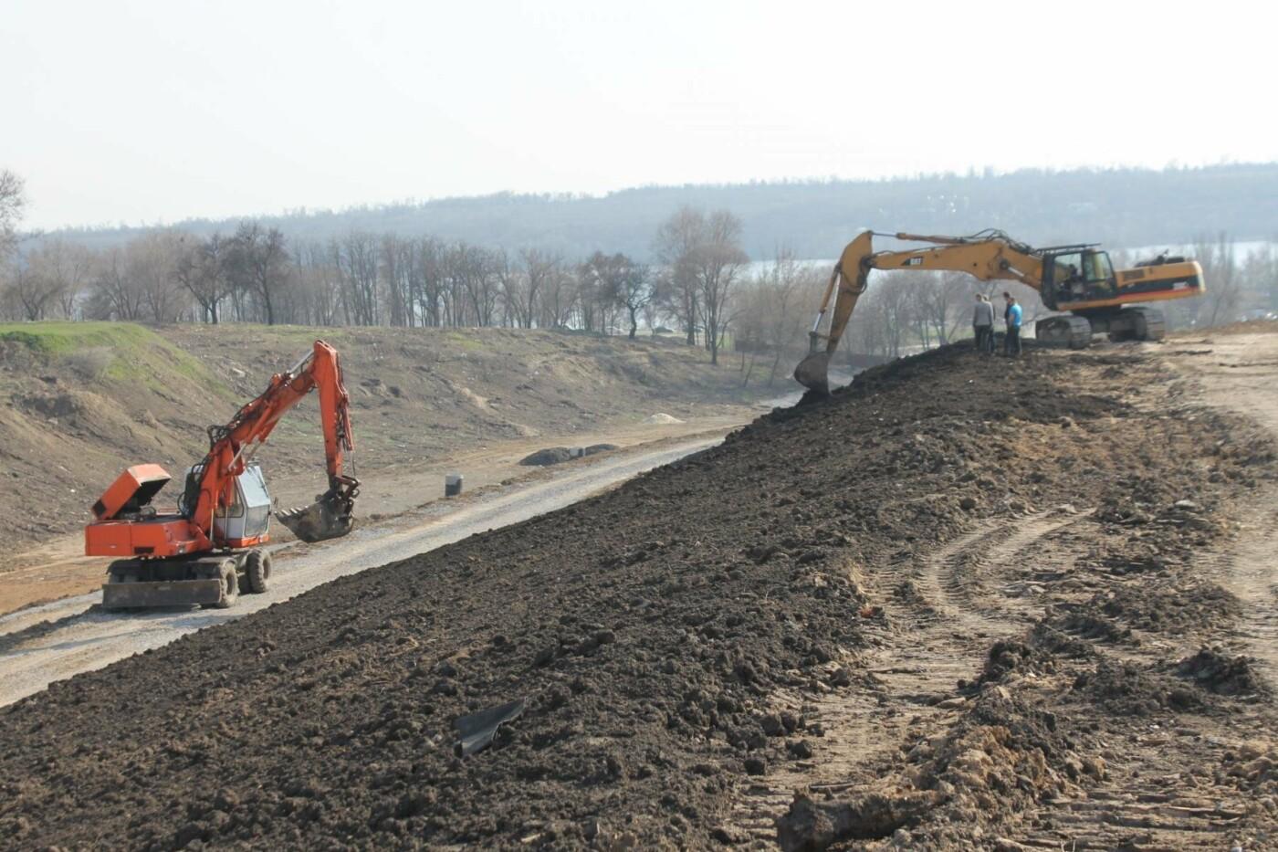 В Запорожье продолжают строить новый парк возле Радуги: что уже сделали подрядчики, – ФОТОРЕПОРТАЖ, фото-1