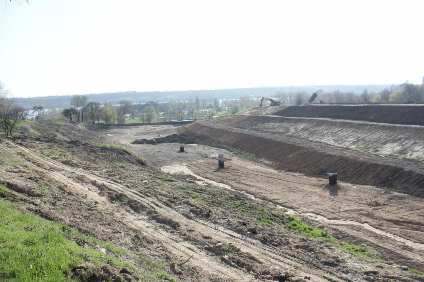 В Запорожье продолжают строить новый парк возле Радуги: что уже сделали подрядчики, – ФОТОРЕПОРТАЖ, фото-4