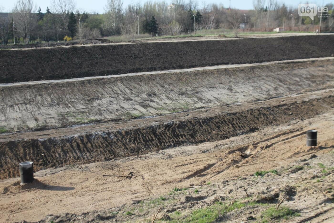 В Запорожье продолжают строить новый парк возле Радуги: что уже сделали подрядчики, – ФОТОРЕПОРТАЖ, фото-5