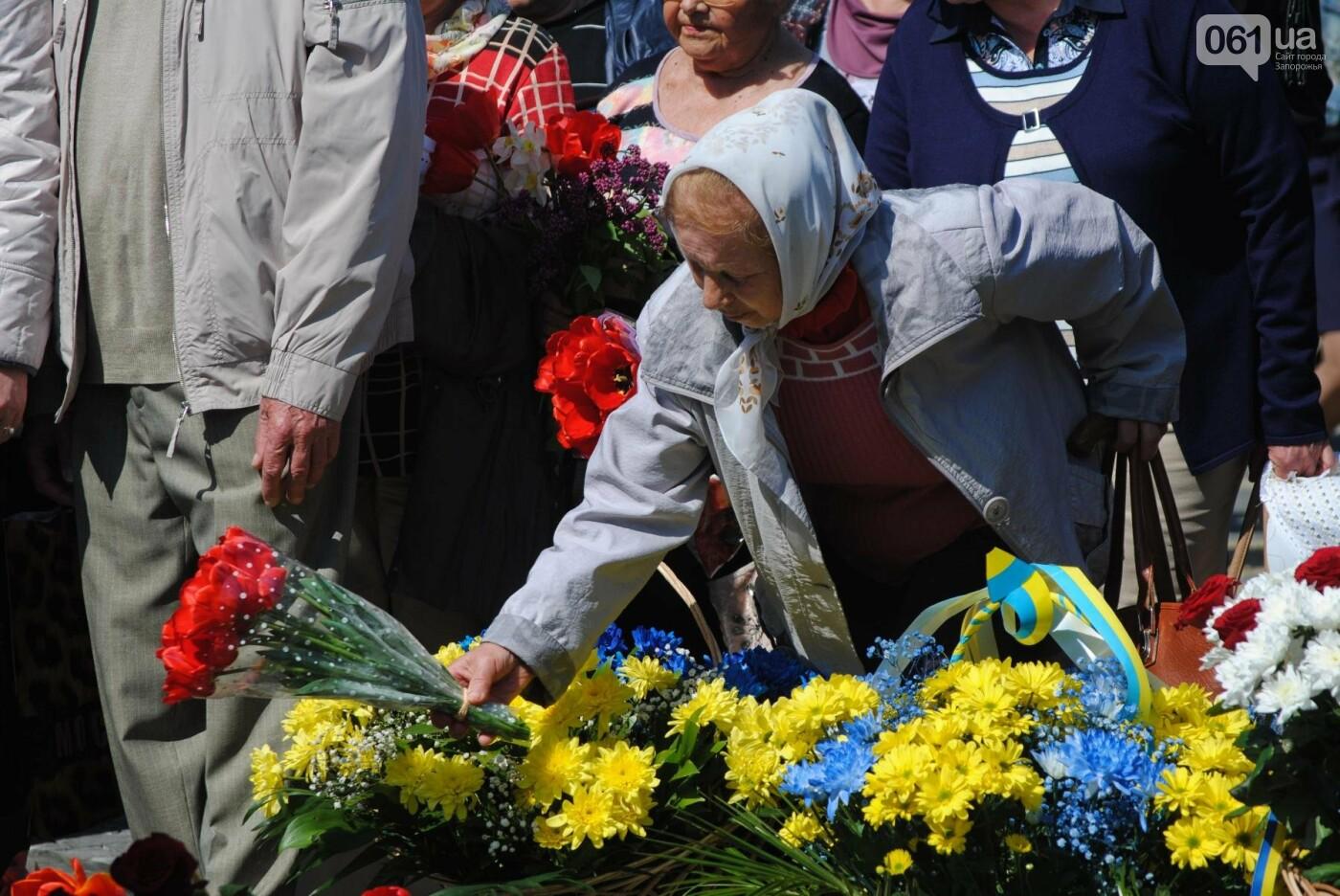 """""""Что сделано, то сделано"""": в Запорожье открыли недостроенный памятник чернобыльцам, - ФОТОРЕПОРТАЖ, фото-34"""