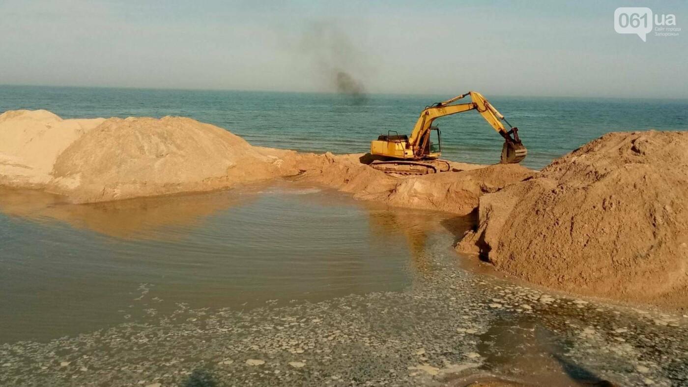 Канал, соединяющий Азовское море с Молочным лиманом, открыли, - ВИДЕО, фото-4