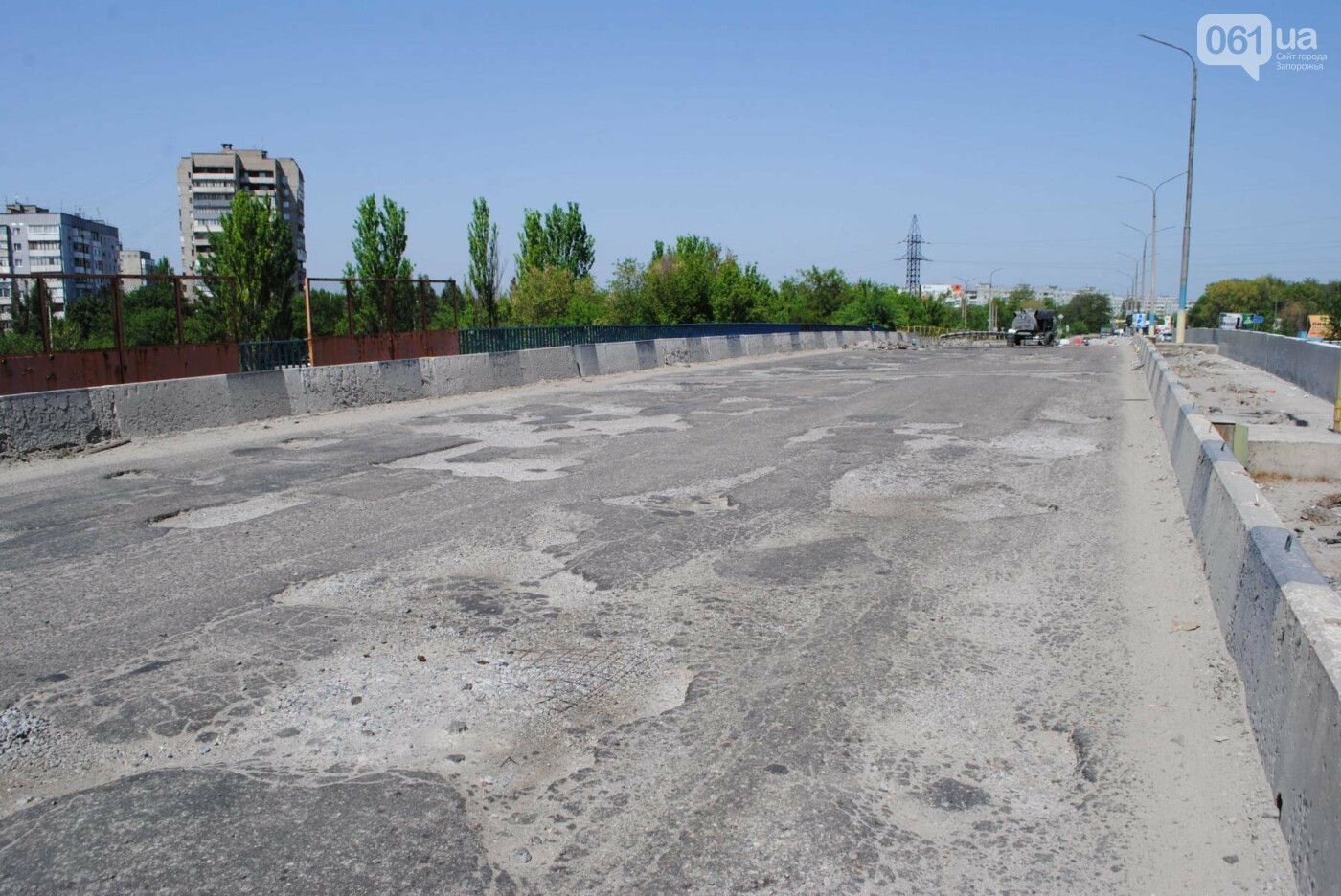 Ремонт моста на трассе в Запорожье: сначала мешали дожди, теперь — жара, - ФОТО, фото-5
