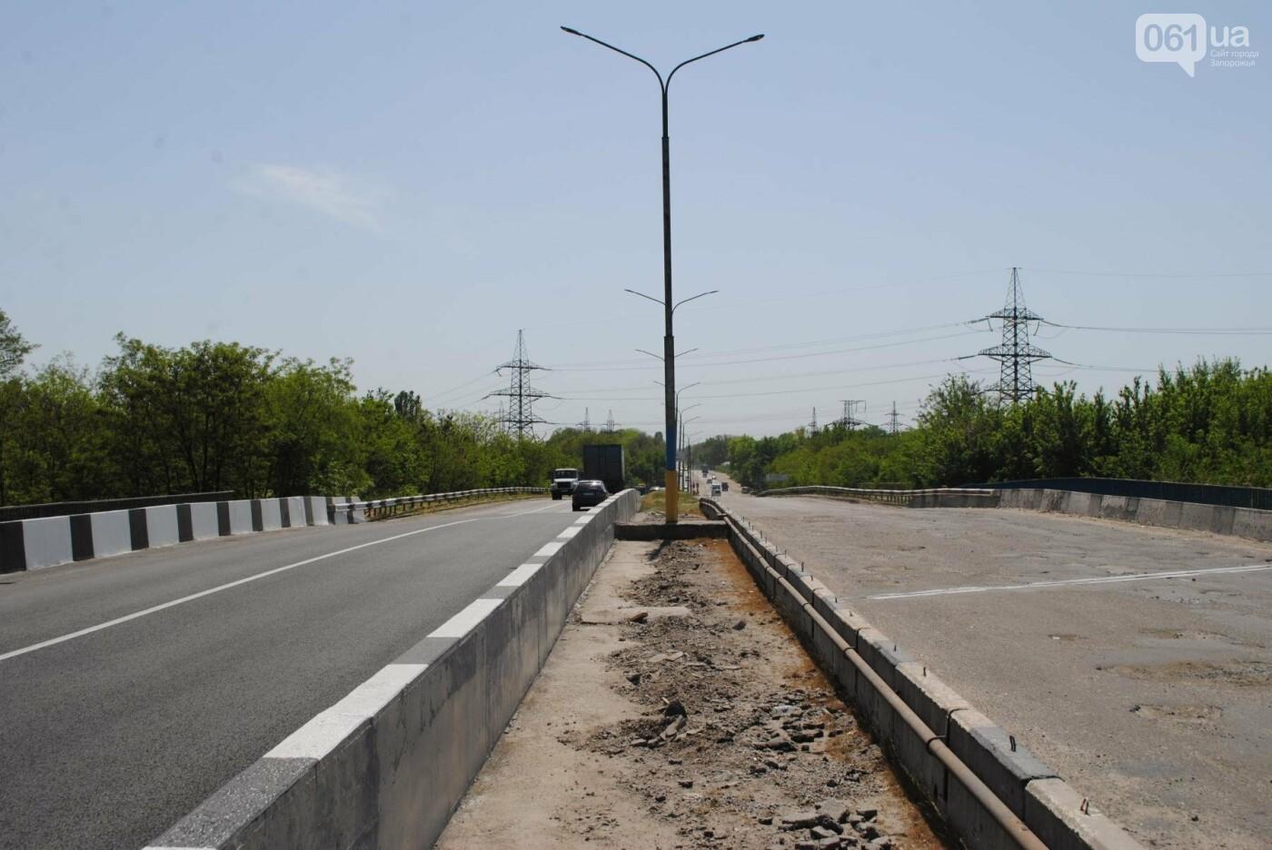 Ремонт моста на трассе в Запорожье: сначала мешали дожди, теперь — жара, - ФОТО, фото-4
