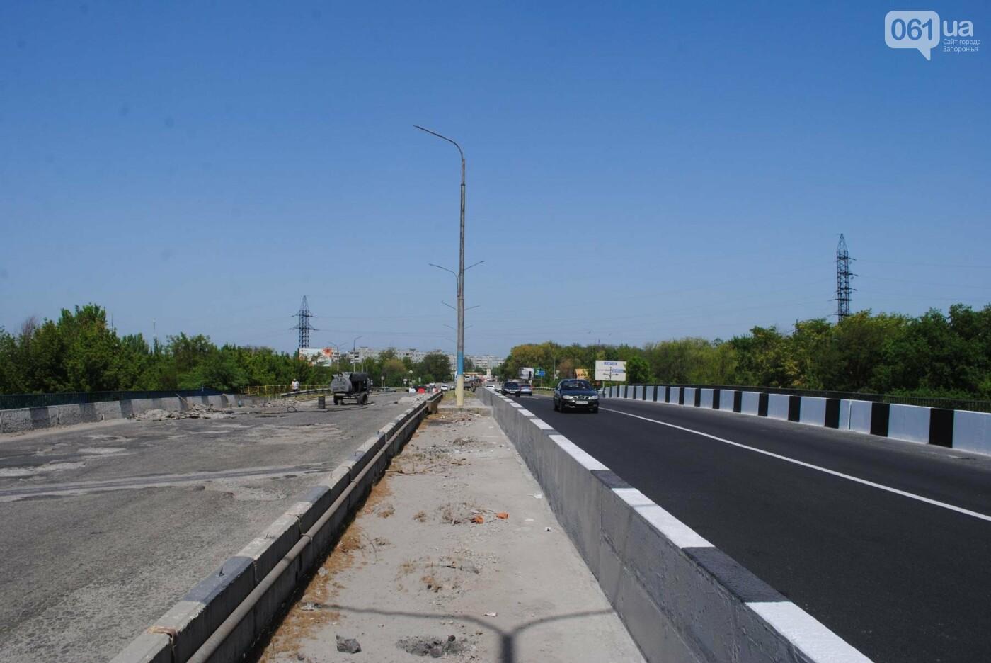Ремонт моста на трассе в Запорожье: сначала мешали дожди, теперь — жара, - ФОТО, фото-3