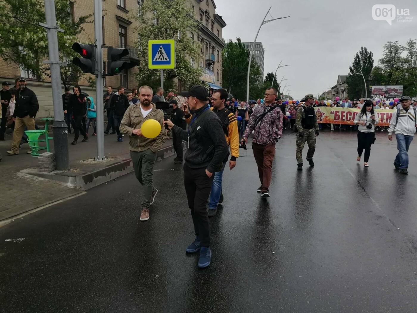 В Мелитополе митинг Балицкого закончился дракой - полиция просила снять георгиевские ленты, - ФОТО, ВИДЕО, фото-14