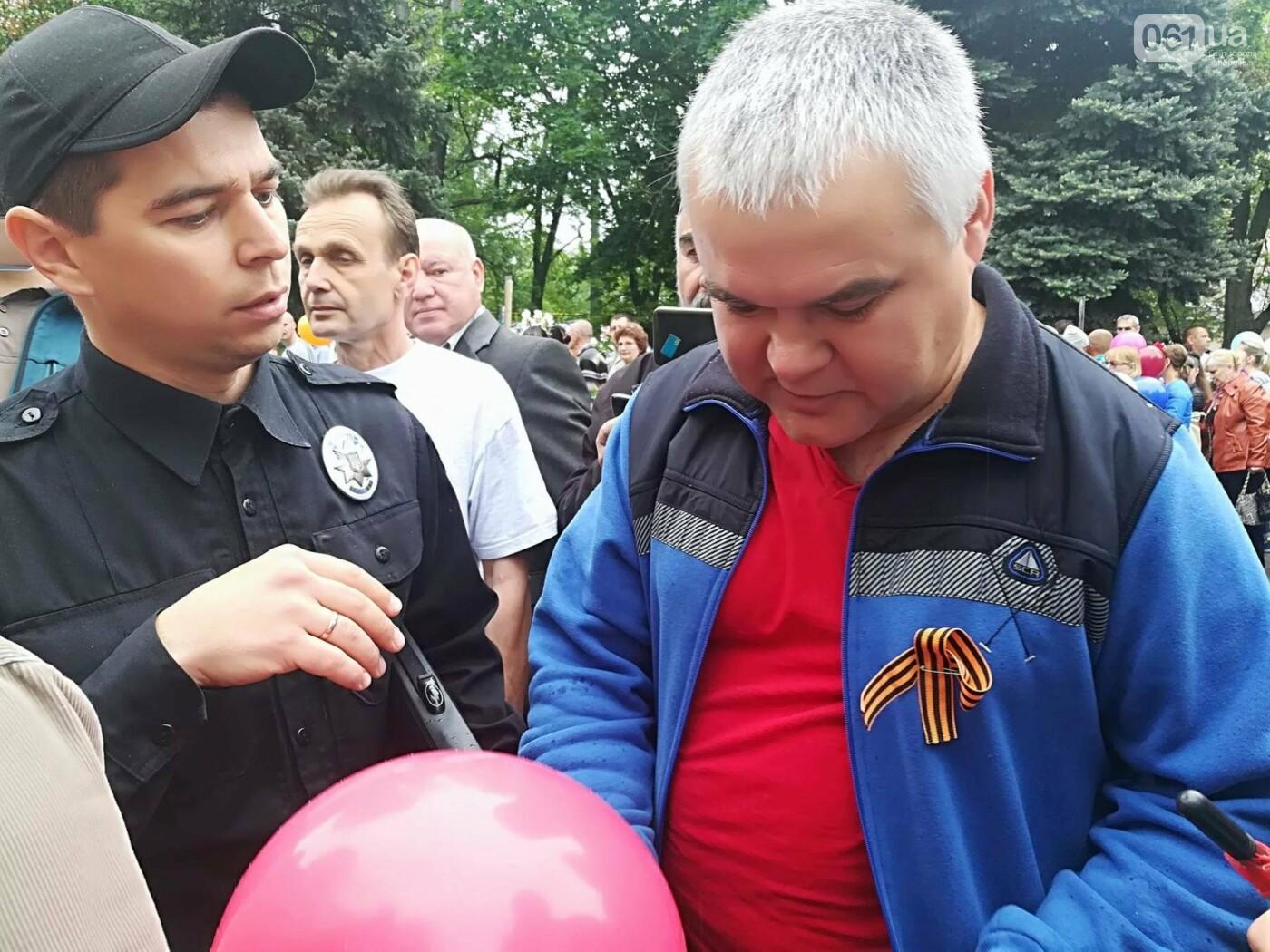 В Мелитополе митинг Балицкого закончился дракой - полиция просила снять георгиевские ленты, - ФОТО, ВИДЕО, фото-8