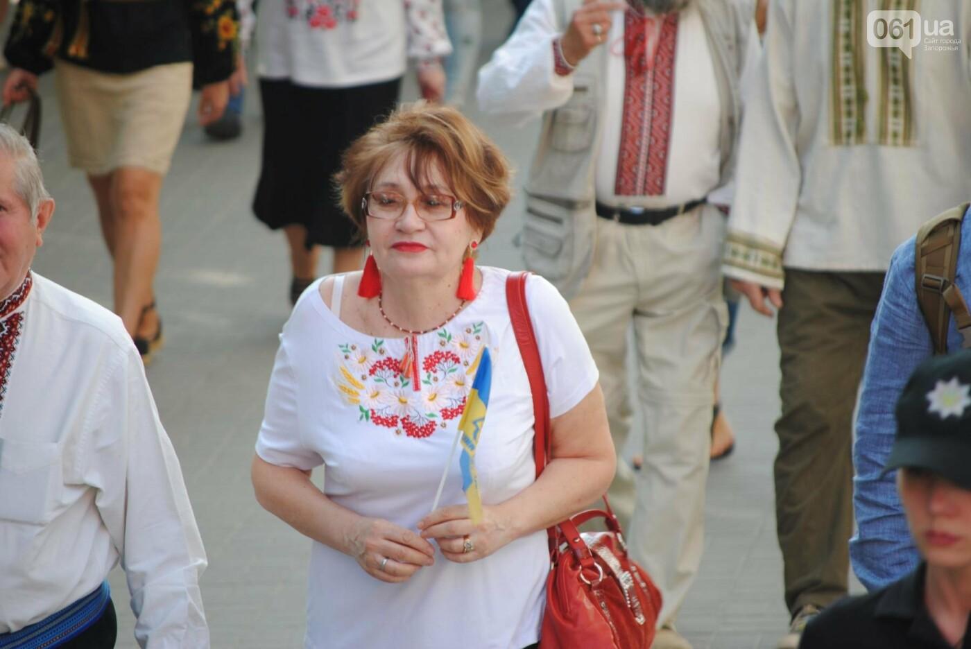 Несколько сотен запорожцев приняли участие в Марше вышиванок, - ФОТОРЕПОРТАЖ, фото-11
