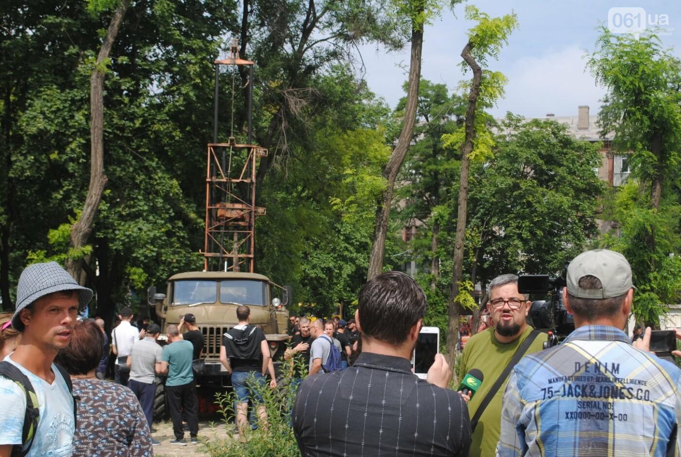 Протест в парке Яланского в лицах, - колоритный ФОТОРЕПОРТАЖ, фото-3