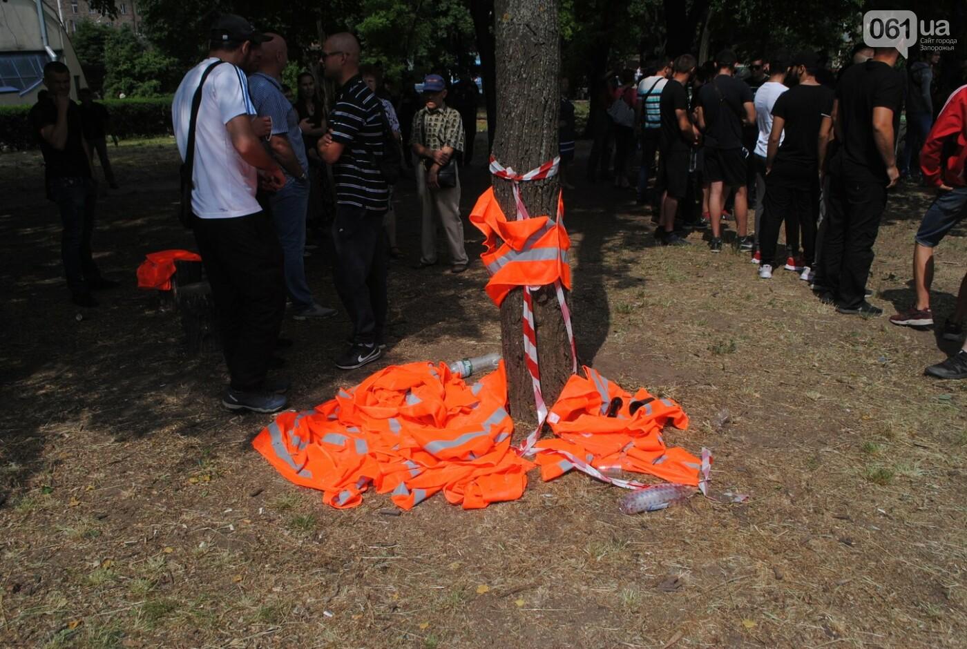 Протест в парке Яланского в лицах, - колоритный ФОТОРЕПОРТАЖ, фото-2