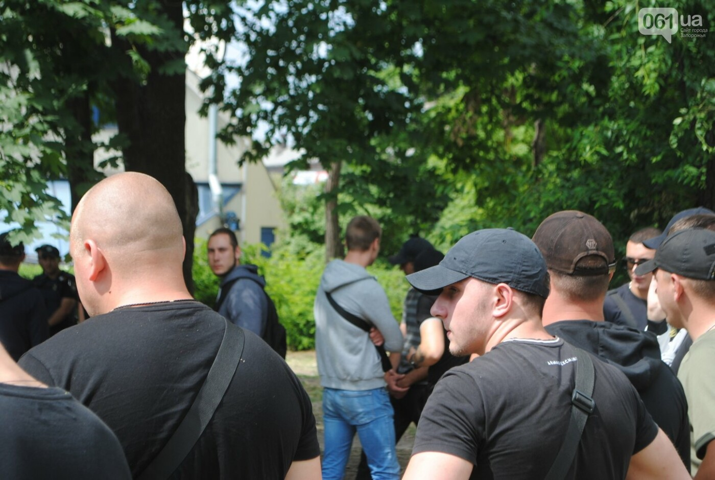 Протест в парке Яланского в лицах, - колоритный ФОТОРЕПОРТАЖ, фото-1