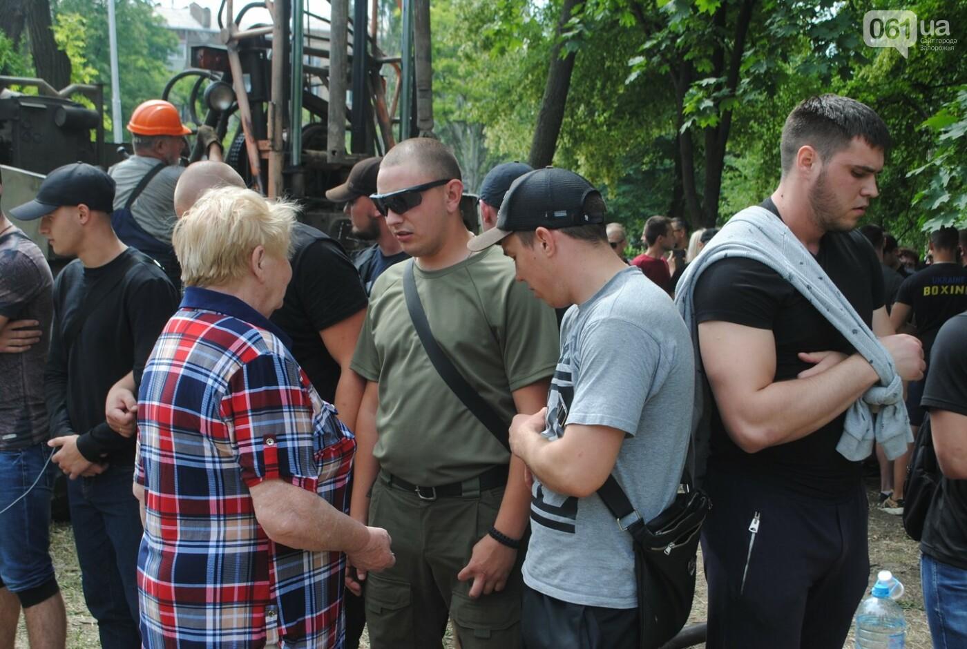 Протест в парке Яланского в лицах, - колоритный ФОТОРЕПОРТАЖ, фото-12