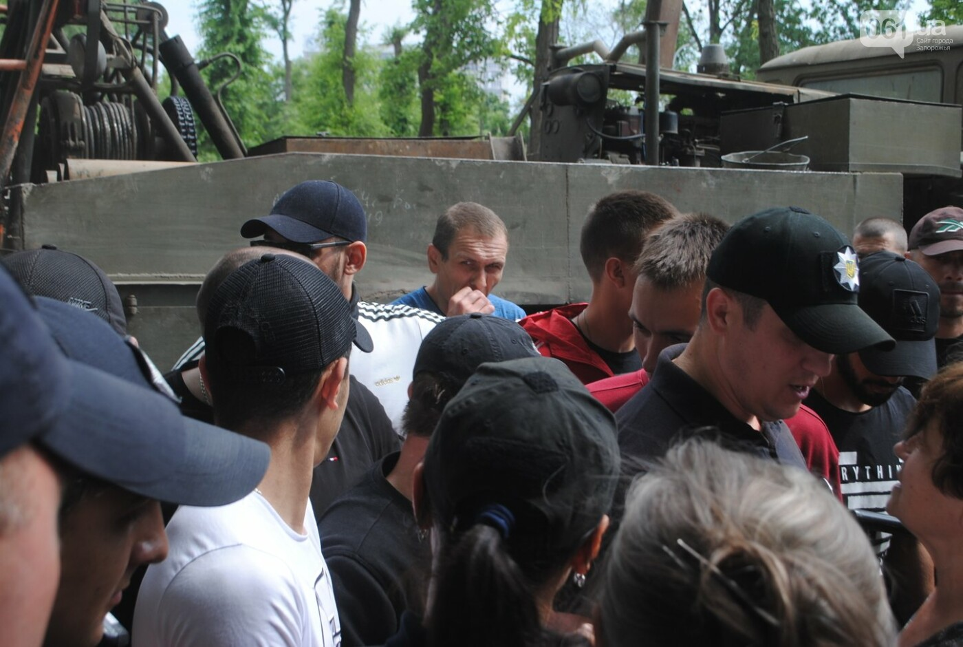 Протест в парке Яланского в лицах, - колоритный ФОТОРЕПОРТАЖ, фото-10