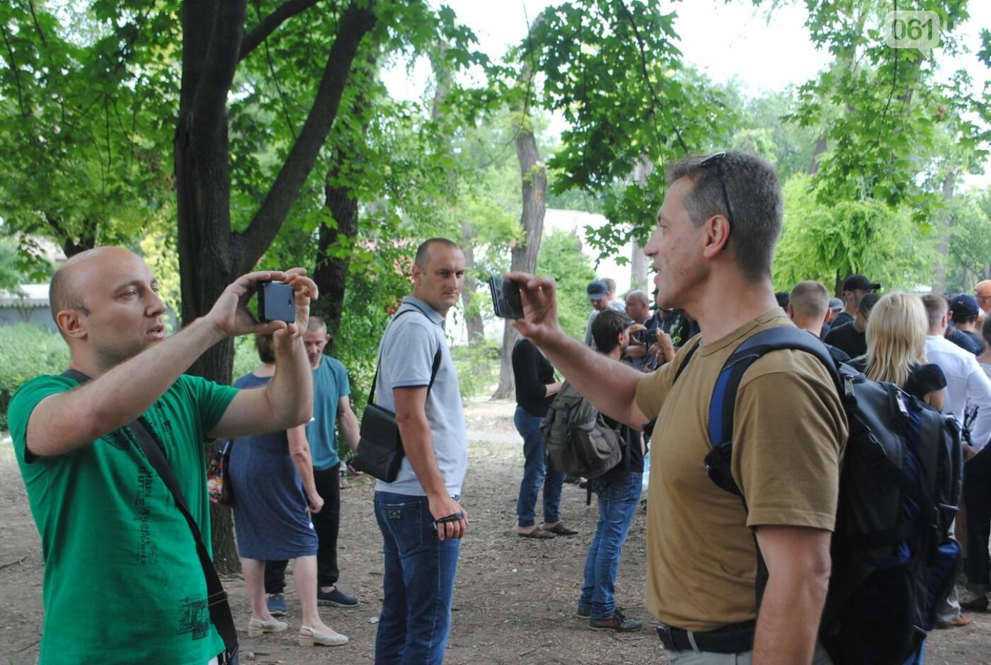 Протест в парке Яланского в лицах, - колоритный ФОТОРЕПОРТАЖ, фото-38
