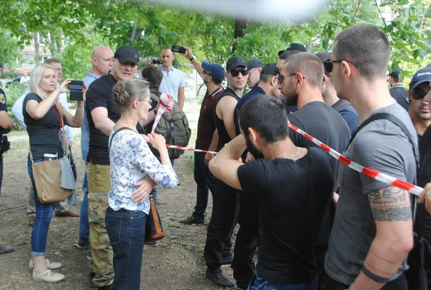 Протест в парке Яланского в лицах, - колоритный ФОТОРЕПОРТАЖ, фото-15