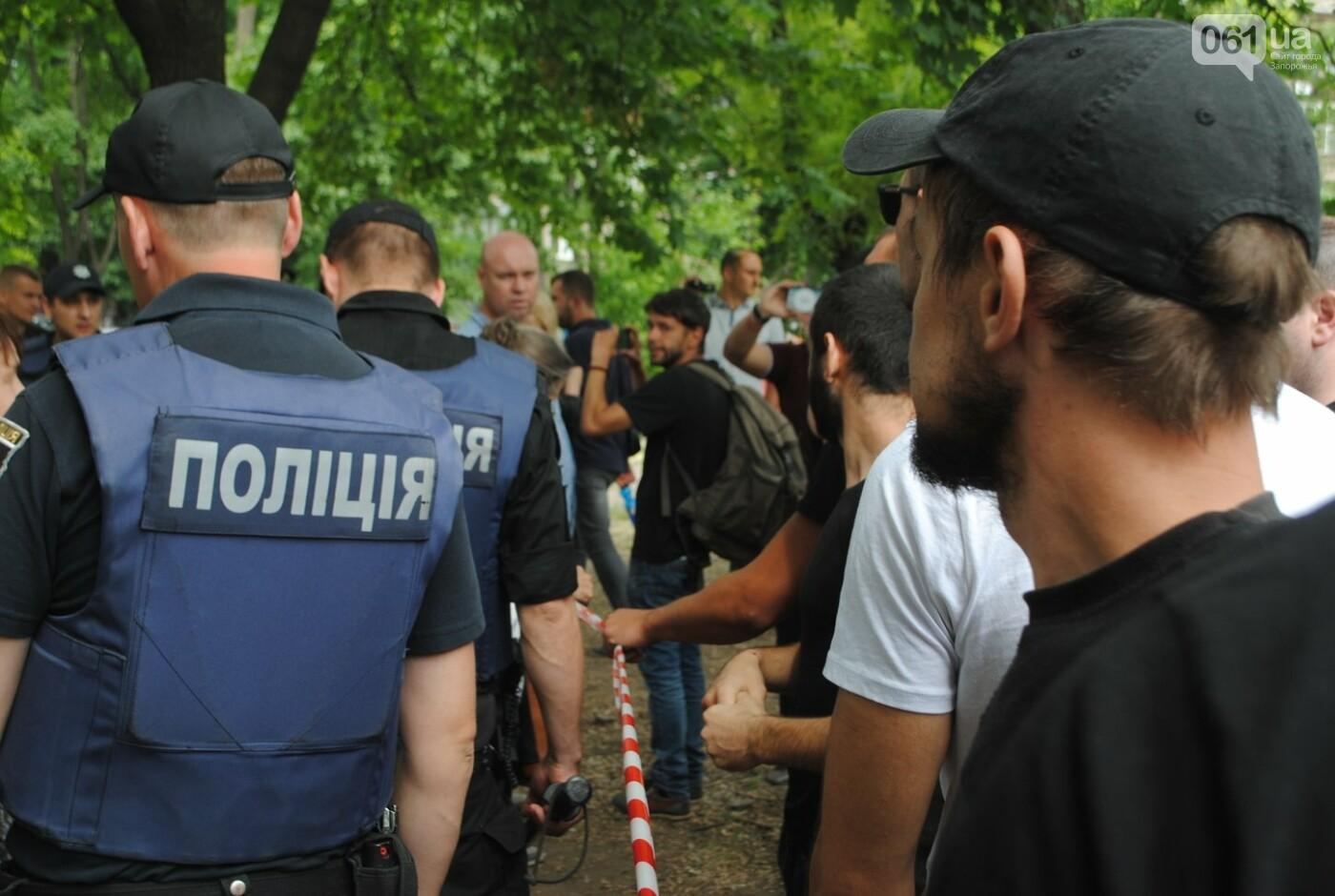 Протест в парке Яланского в лицах, - колоритный ФОТОРЕПОРТАЖ, фото-11