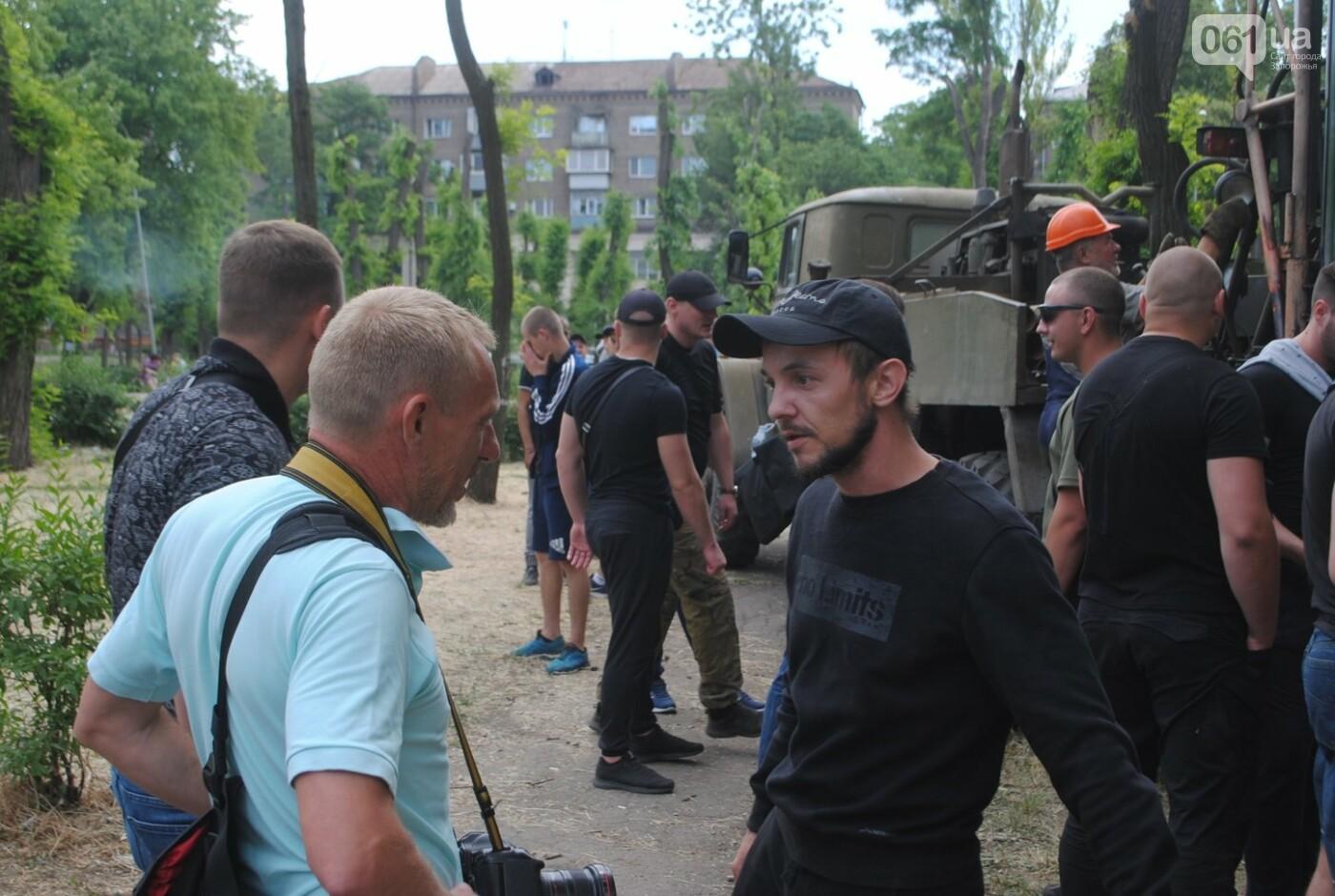 Протест в парке Яланского в лицах, - колоритный ФОТОРЕПОРТАЖ, фото-25