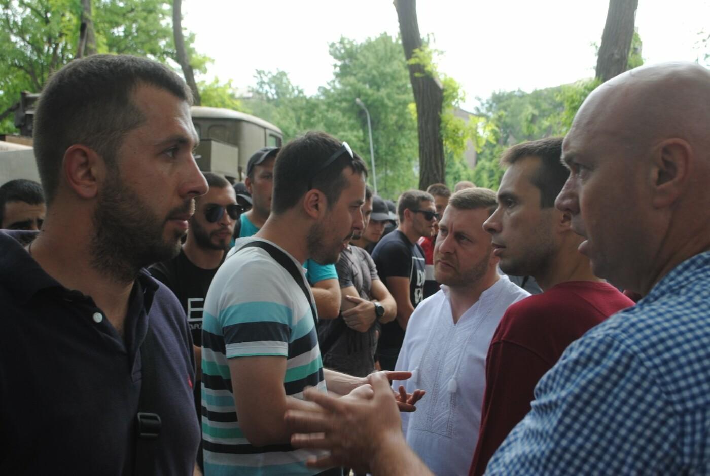 Протест в парке Яланского в лицах, - колоритный ФОТОРЕПОРТАЖ, фото-7
