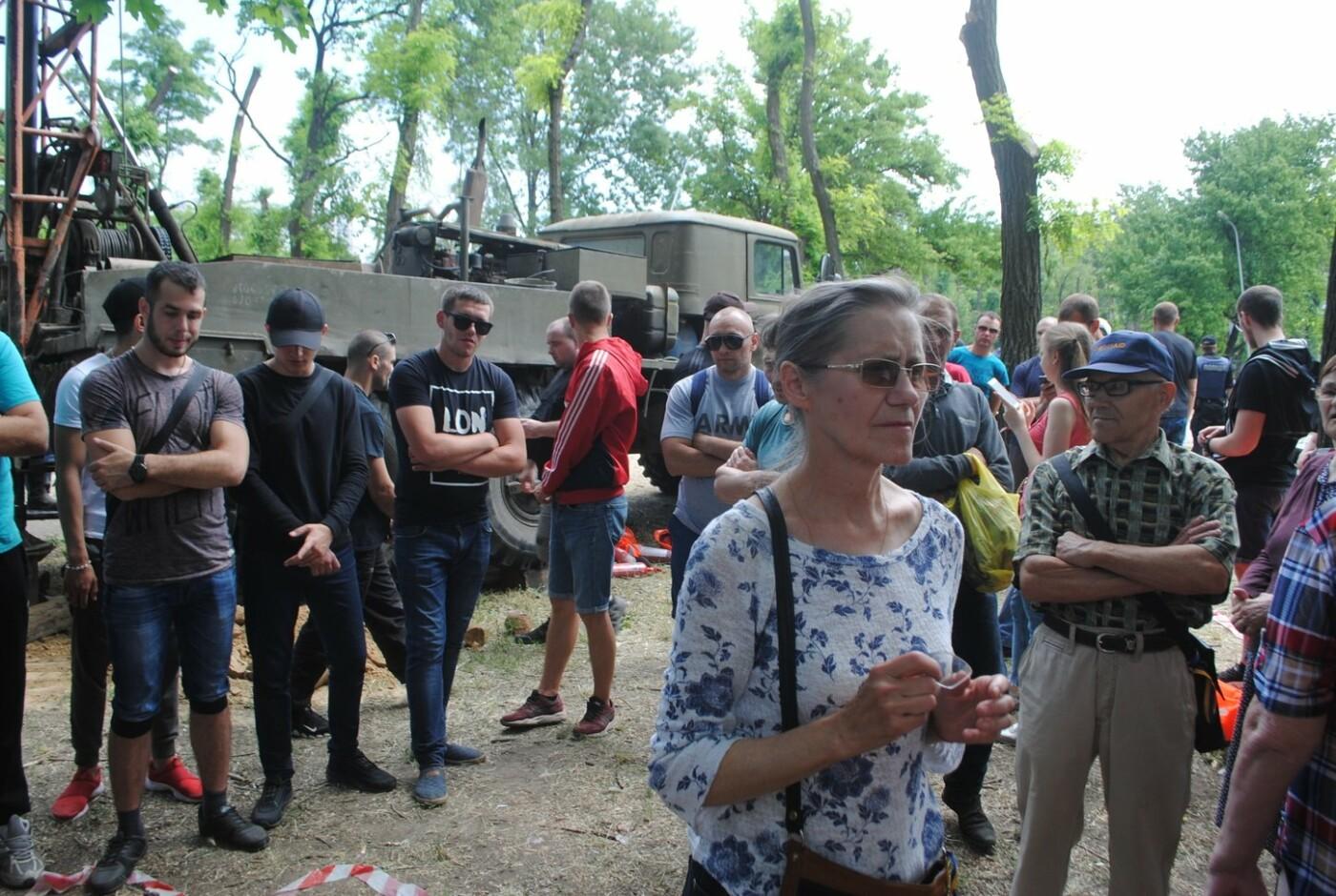 Протест в парке Яланского в лицах, - колоритный ФОТОРЕПОРТАЖ, фото-31