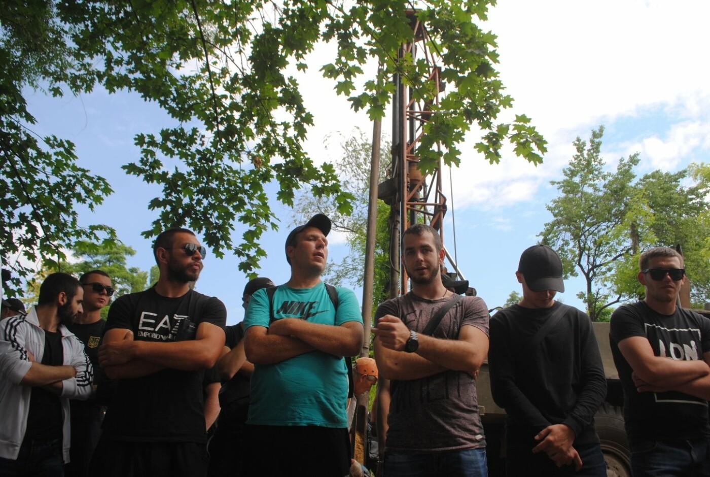 Протест в парке Яланского в лицах, - колоритный ФОТОРЕПОРТАЖ, фото-23