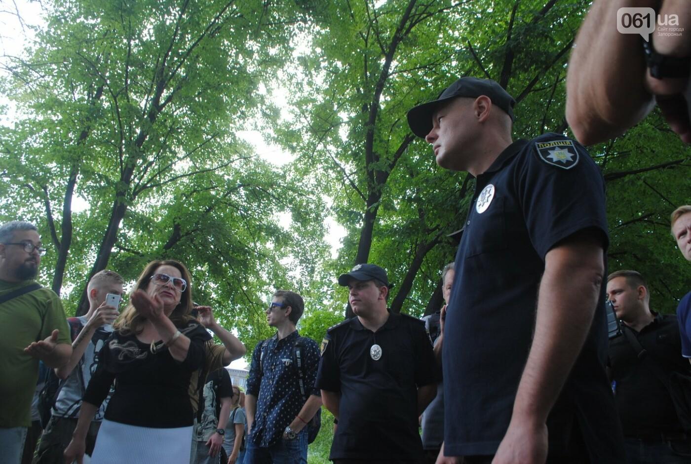Протест в парке Яланского в лицах, - колоритный ФОТОРЕПОРТАЖ, фото-33