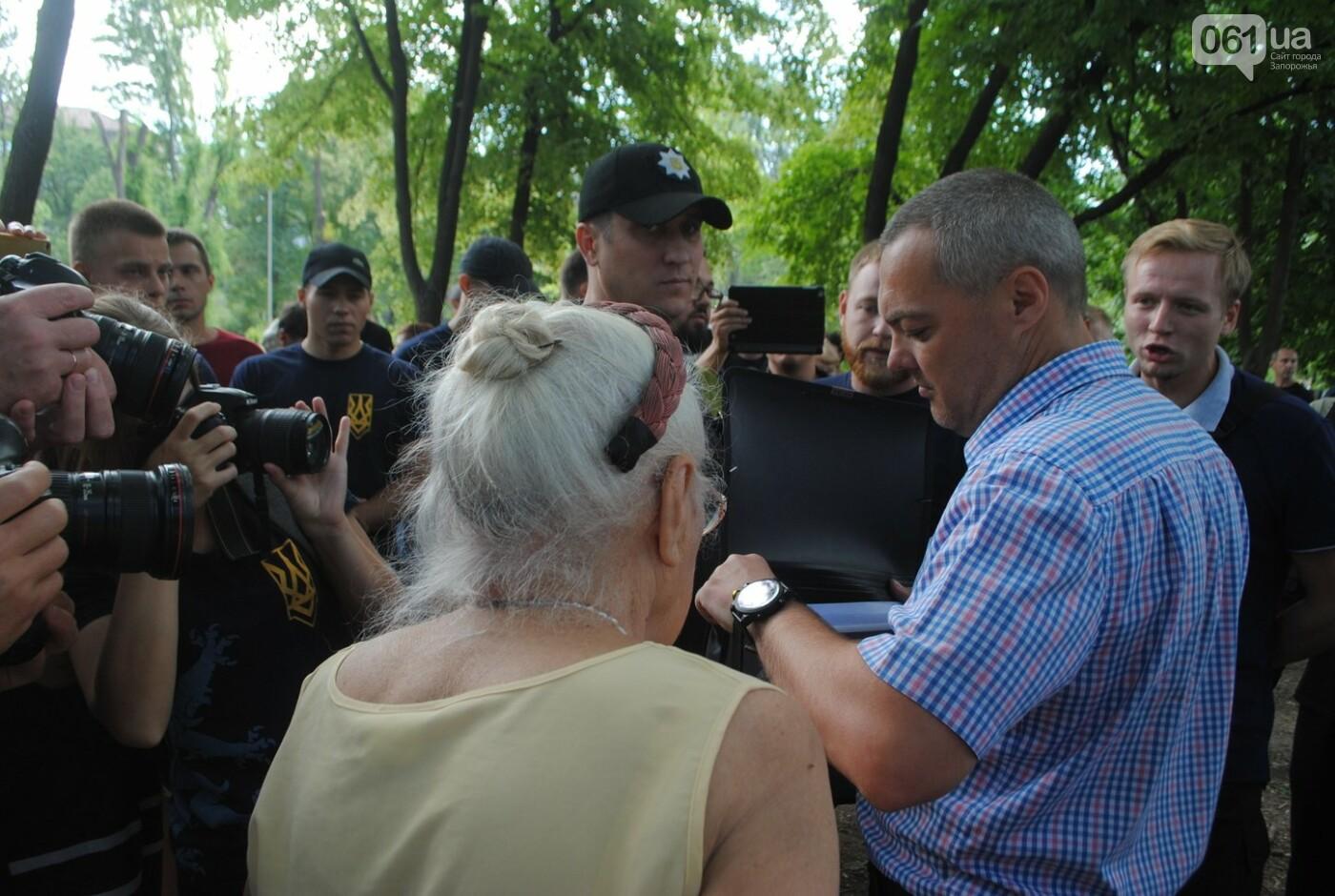 Протест в парке Яланского в лицах, - колоритный ФОТОРЕПОРТАЖ, фото-41