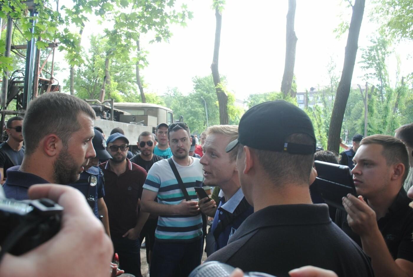 Протест в парке Яланского в лицах, - колоритный ФОТОРЕПОРТАЖ, фото-26