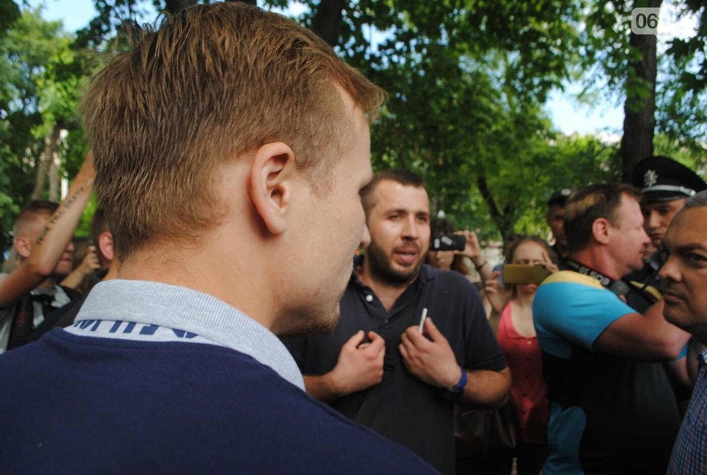 Протест в парке Яланского в лицах, - колоритный ФОТОРЕПОРТАЖ, фото-27
