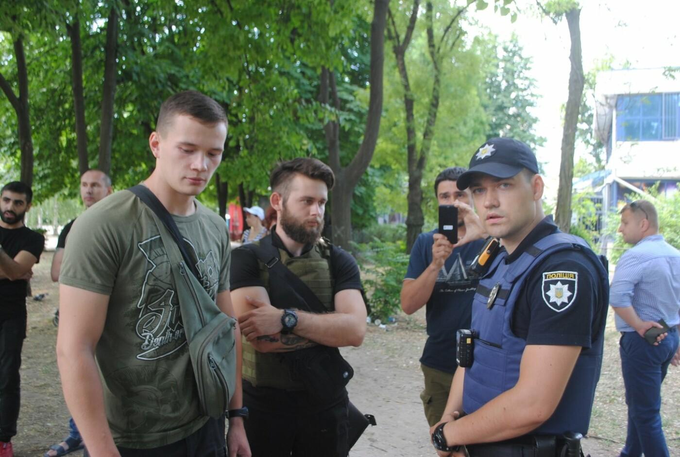 Протест в парке Яланского в лицах, - колоритный ФОТОРЕПОРТАЖ, фото-39