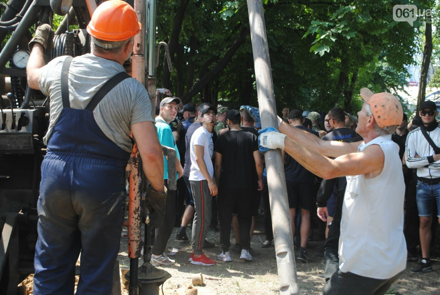 Протест в парке Яланского в лицах, - колоритный ФОТОРЕПОРТАЖ, фото-40