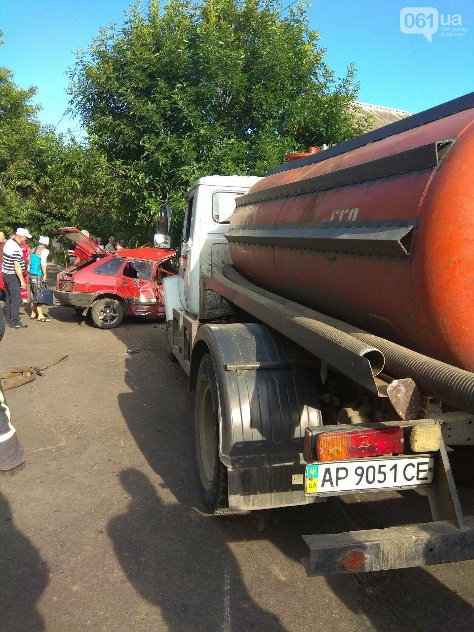 В Бердянске в ДТП пострадали дети - на месте происшествия работало 10 спасателей, - ФОТО, фото-1