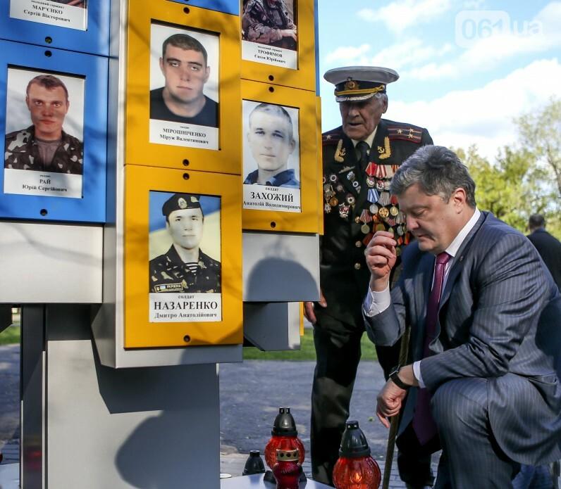 Едет-не едет: Как часто Порошенко приезжает в Запорожье и что о запорожцах пишут на сайте президента, фото-17