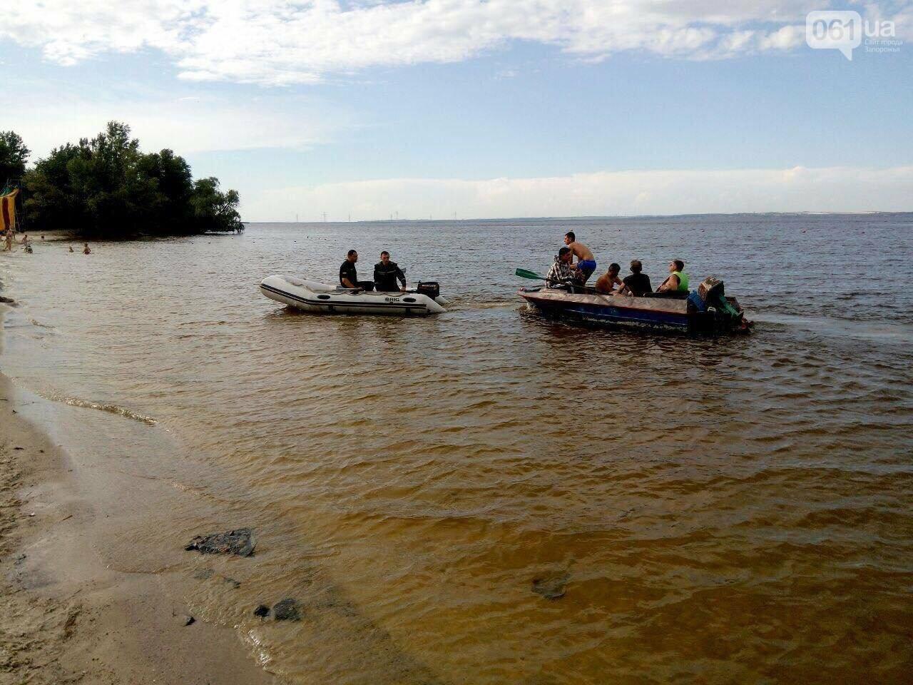 В Энергодаре на островах спасали мужчин: их лодка утонула, - ФОТО, фото-3