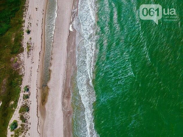 Бердянская коса с высоты птичьего полета, - ФОТО, фото-14