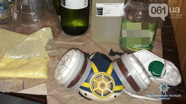 Бердянские полицейские выявили нарколабораторию в Киеве с амфетамином на 400 тысяч, - ФОТО, фото-2