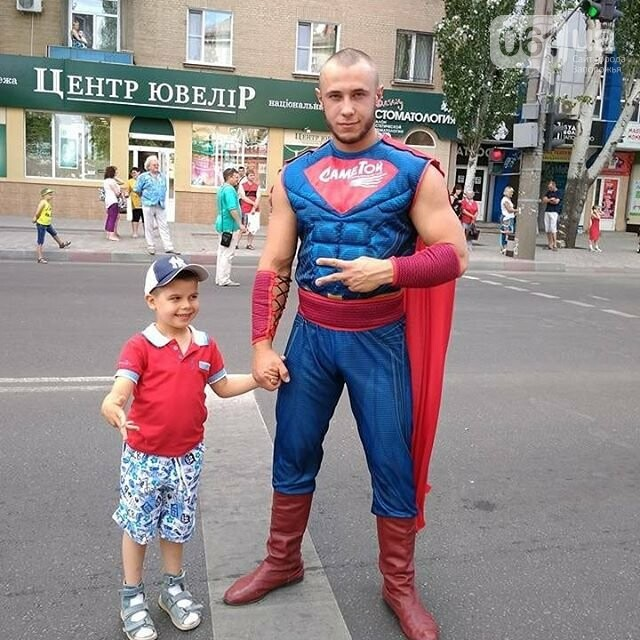 """В Мелитополе, слоган которого """"Саме тут"""", появился супергерой """"Саме той"""", - ФОТО, фото-2"""