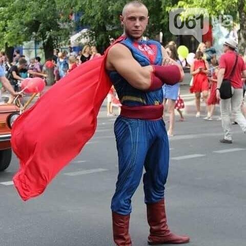 """В Мелитополе, слоган которого """"Саме тут"""", появился супергерой """"Саме той"""", - ФОТО, фото-1"""