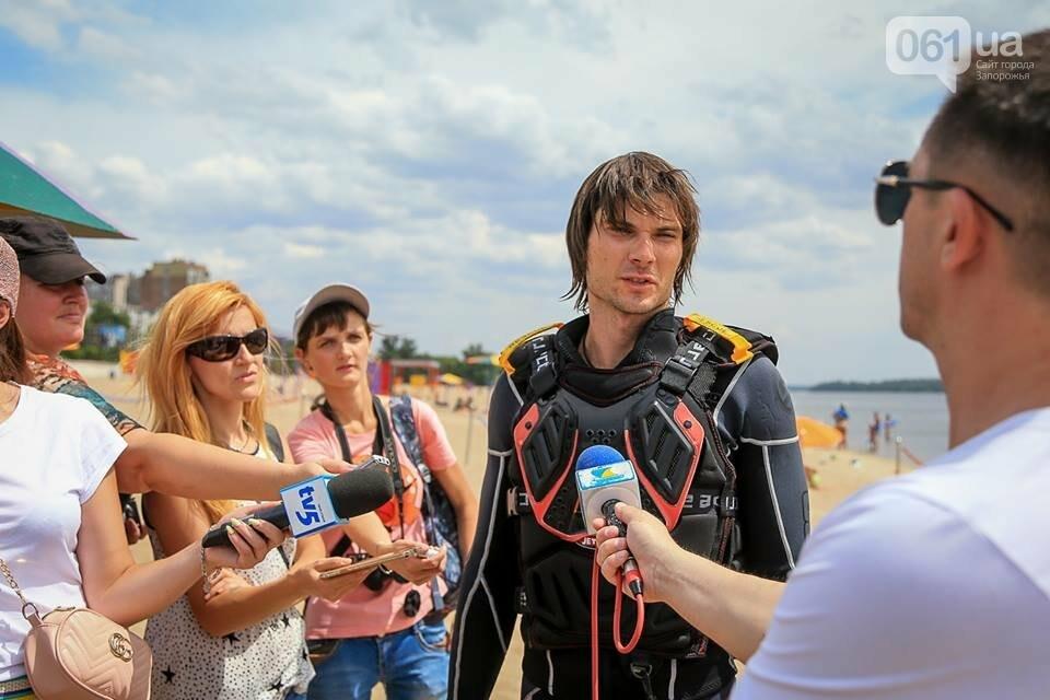 В Запорожье на центральном пляже прошел Чемпионат Украины по аквабайку, — ФОТО, фото-22