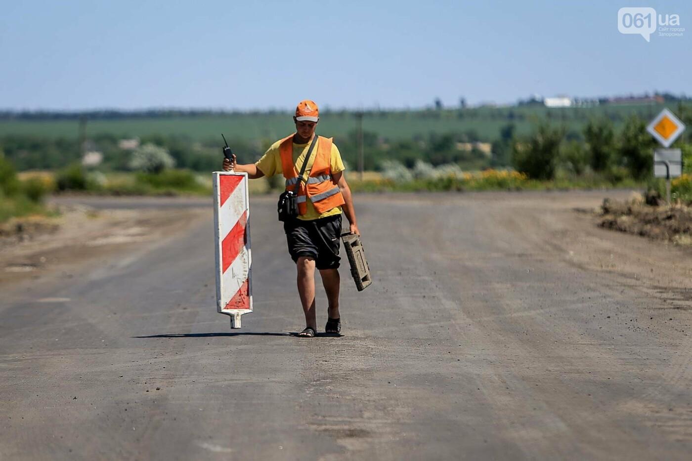 Следом за министром работу мариупольской компании раскритиковал и запорожский губернатор — оба не довольны качеством и темпом работ, - ФОТ..., фото-24