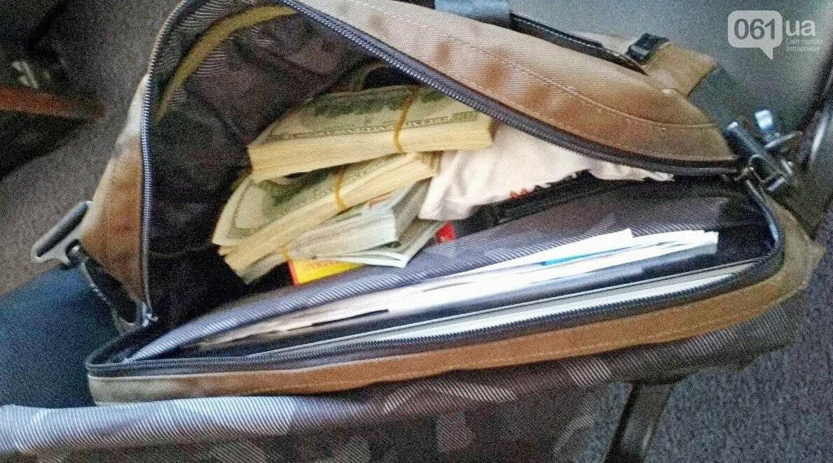 Запорожские таможенники изъяли у турка почти 20 тысяч долларов, фото-1