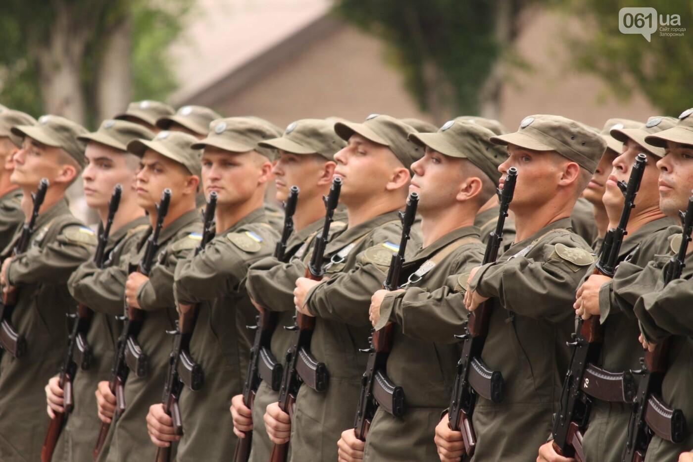 В Запорожье новобранцы Нацгвардии приняли присягу на верность Украине, – ФОТОРЕПОРТАЖ, фото-2