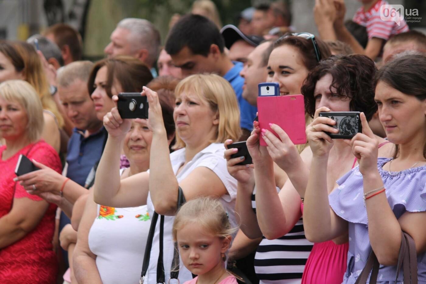 В Запорожье новобранцы Нацгвардии приняли присягу на верность Украине, – ФОТОРЕПОРТАЖ, фото-10