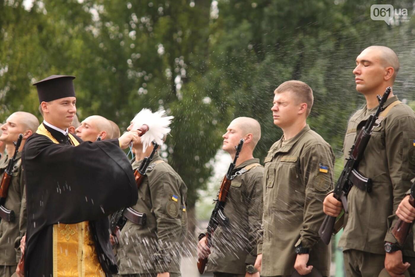 В Запорожье новобранцы Нацгвардии приняли присягу на верность Украине, – ФОТОРЕПОРТАЖ, фото-20