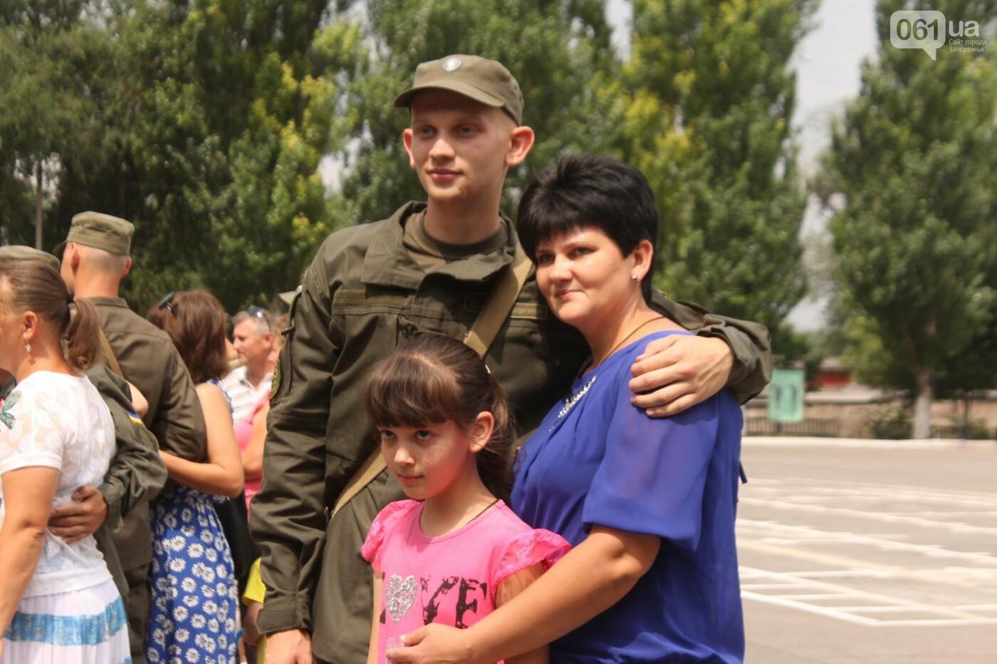 В Запорожье новобранцы Нацгвардии приняли присягу на верность Украине, – ФОТОРЕПОРТАЖ, фото-21