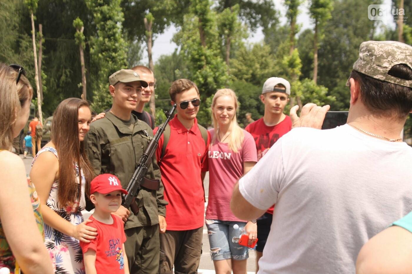 В Запорожье новобранцы Нацгвардии приняли присягу на верность Украине, – ФОТОРЕПОРТАЖ, фото-23