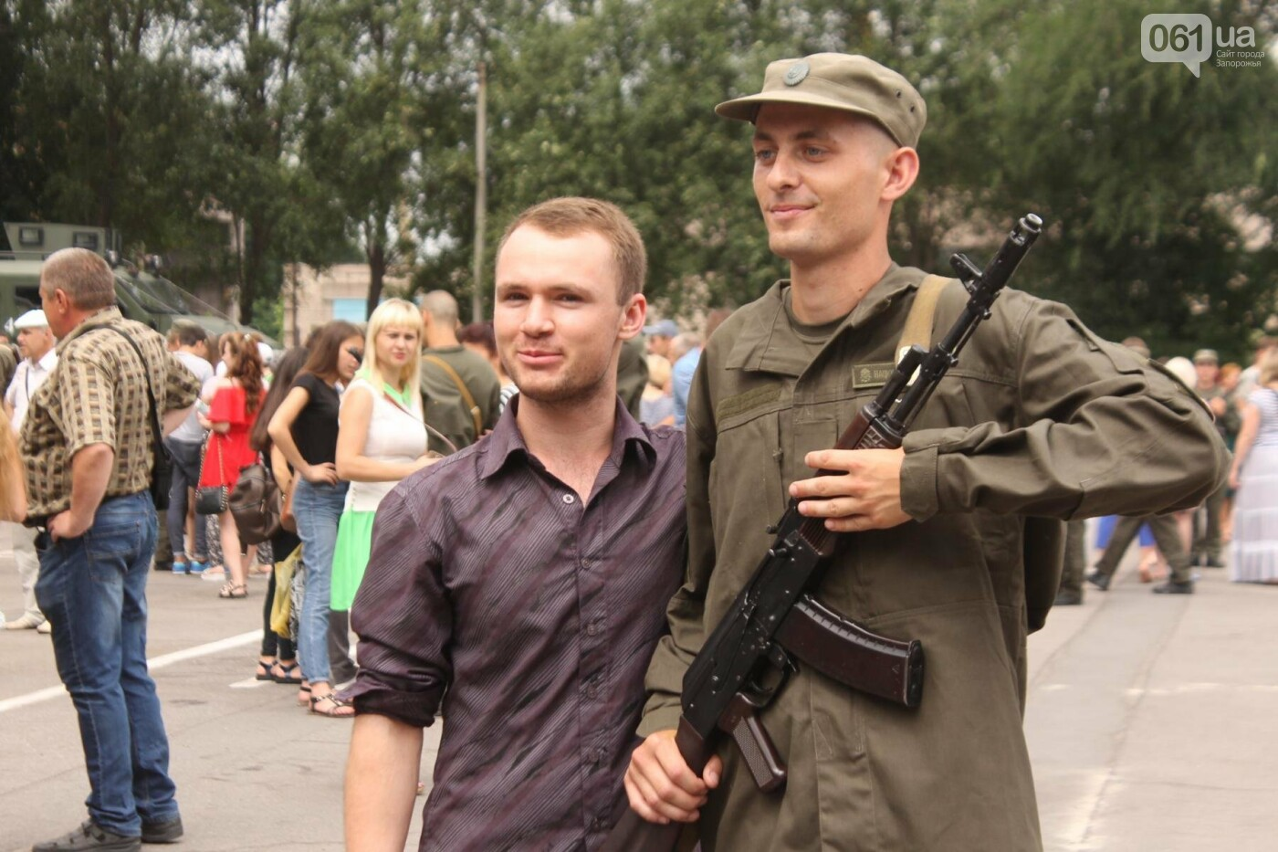 В Запорожье новобранцы Нацгвардии приняли присягу на верность Украине, – ФОТОРЕПОРТАЖ, фото-24