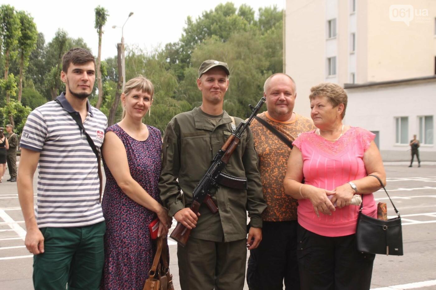 В Запорожье новобранцы Нацгвардии приняли присягу на верность Украине, – ФОТОРЕПОРТАЖ, фото-22