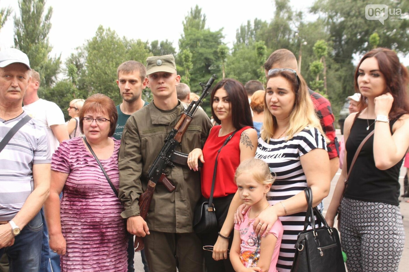 В Запорожье новобранцы Нацгвардии приняли присягу на верность Украине, – ФОТОРЕПОРТАЖ, фото-26