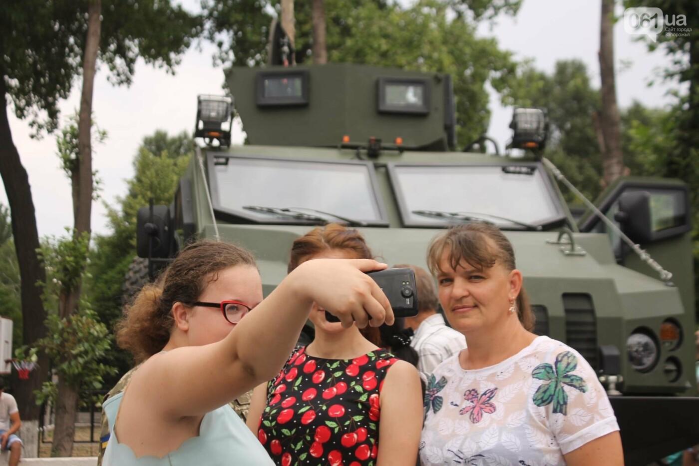 В Запорожье новобранцы Нацгвардии приняли присягу на верность Украине, – ФОТОРЕПОРТАЖ, фото-27