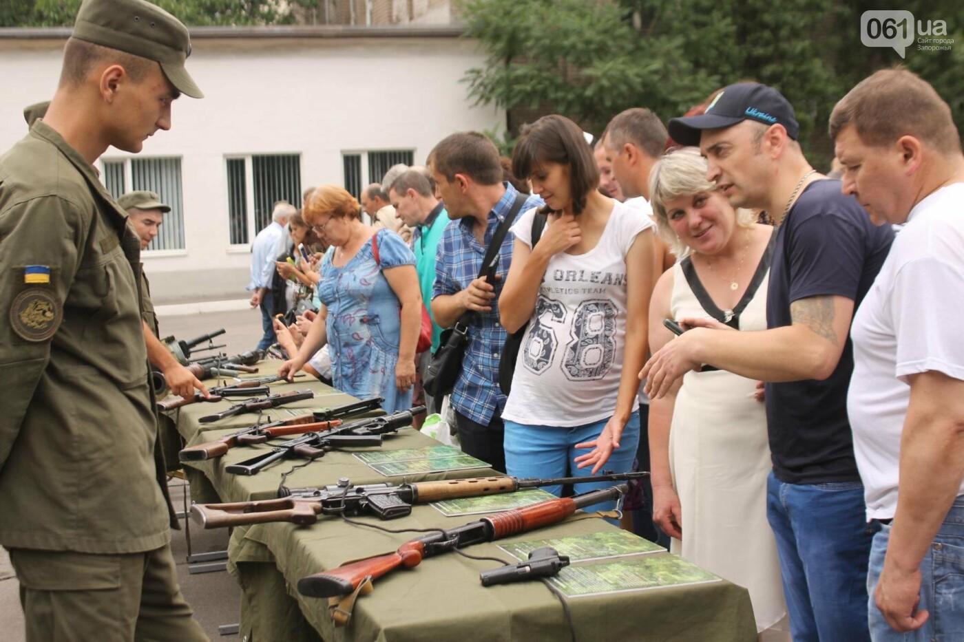 В Запорожье новобранцы Нацгвардии приняли присягу на верность Украине, – ФОТОРЕПОРТАЖ, фото-28