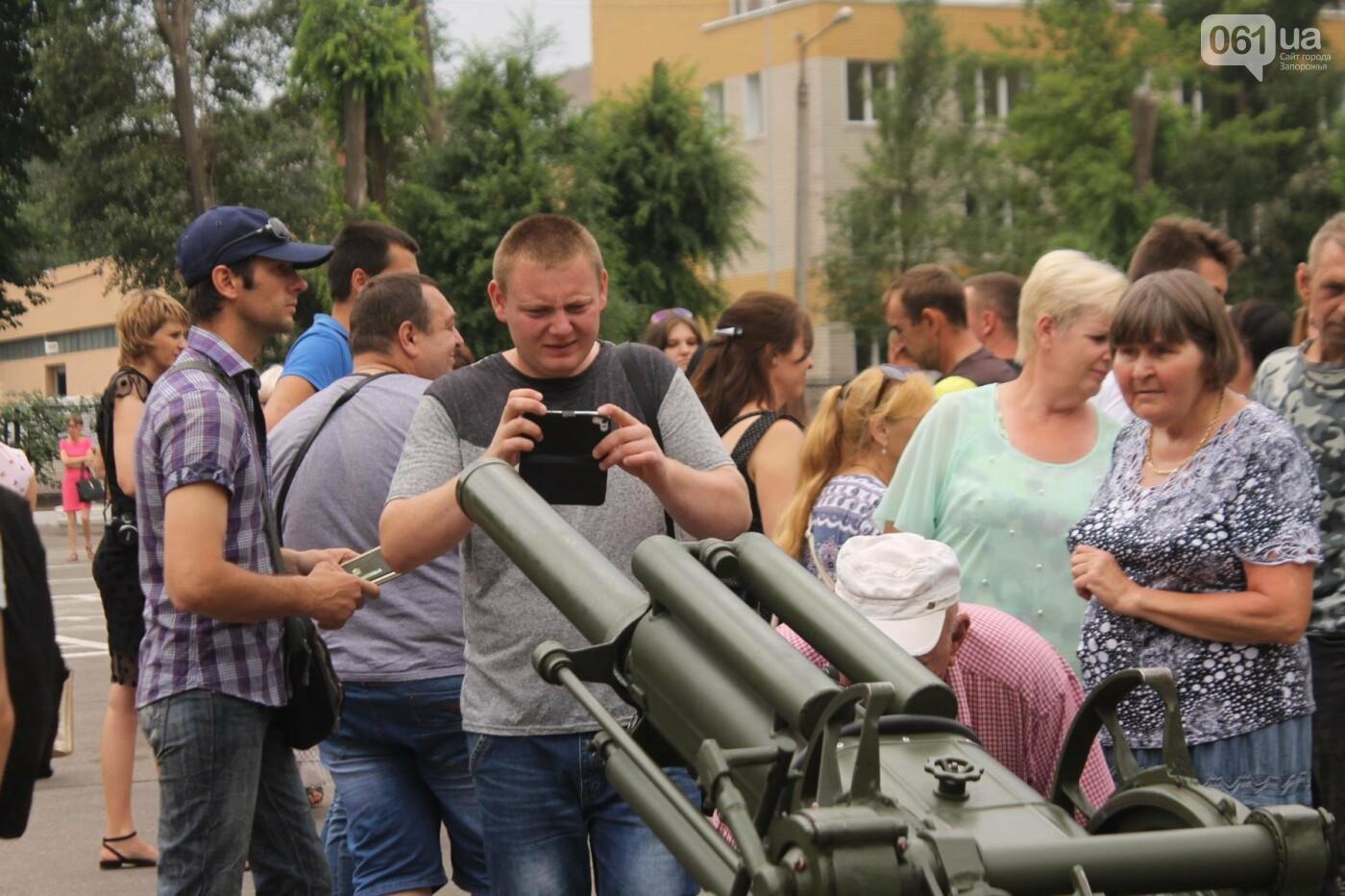 В Запорожье новобранцы Нацгвардии приняли присягу на верность Украине, – ФОТОРЕПОРТАЖ, фото-25